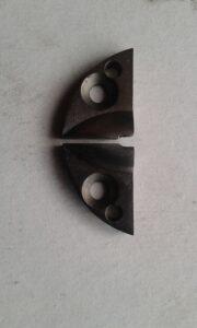 Dik bıçak kumaş kesim motoru bıçak ucu tırnağı