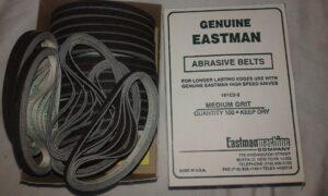 Eastman Model Dik Bıçak Kumaş Kesim Motoru Bileme Şeridi