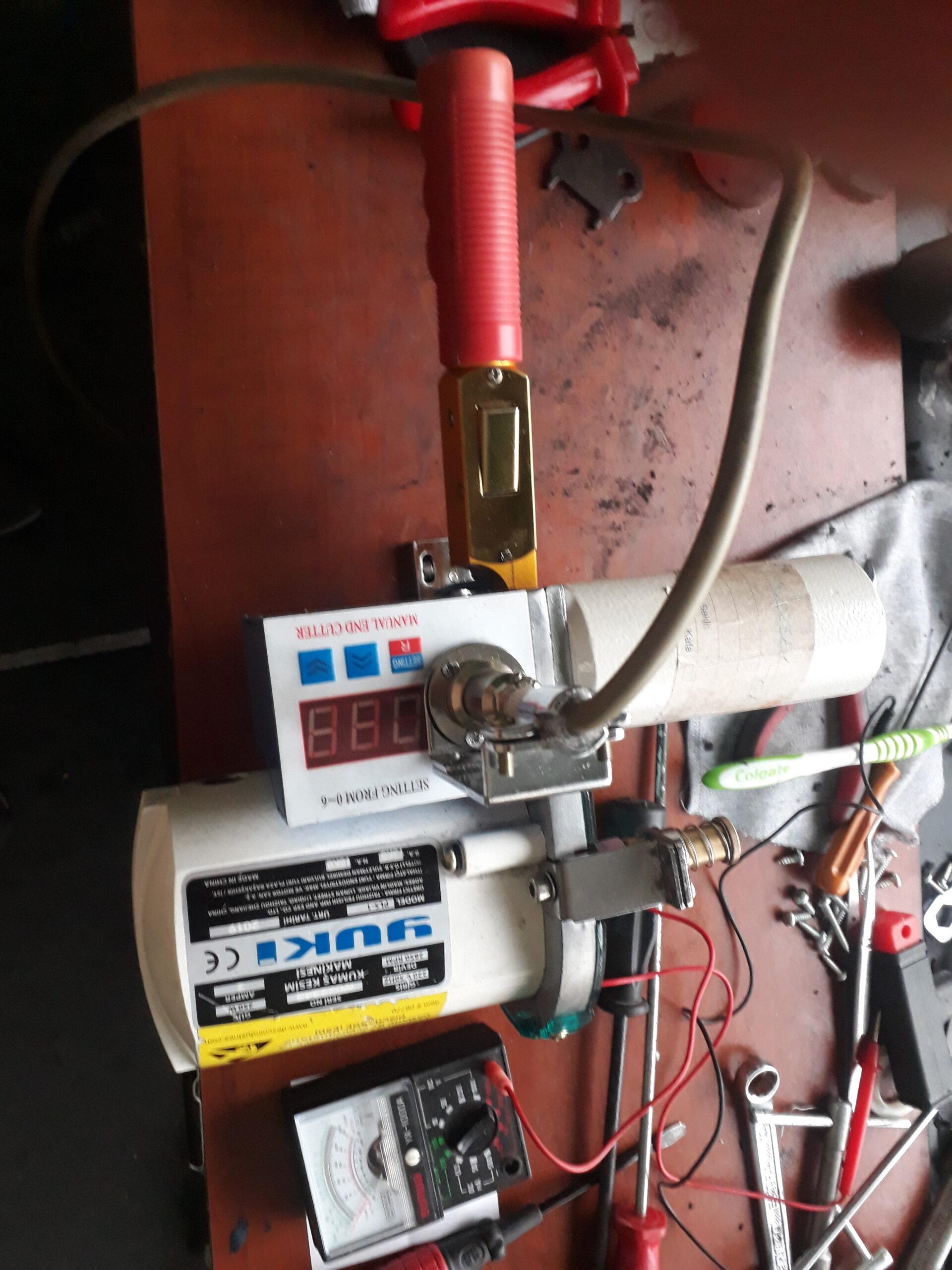 Elektronik kart devre arızası bulunan Yuki Pastalbaşı Kumaş Kesim Motoru gerekli müdahaleler yapılarak çalışır duruma getirilmiştir. İrtibat: (90) 0538 749 34 59