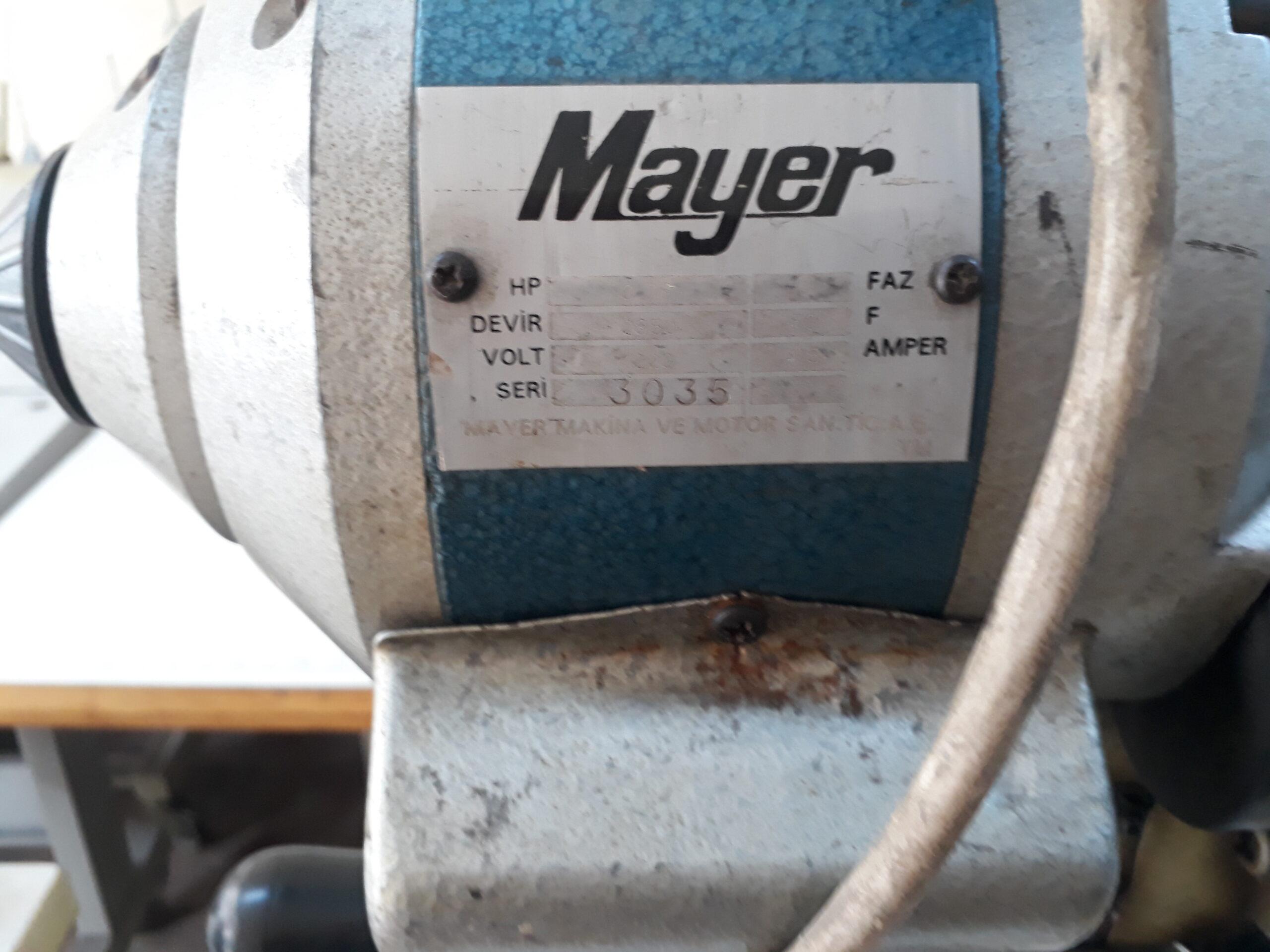 Mayer-Marka-Satilik-İkinci-El-Kumaş-Kesim-Motoru-promethe-elektronik İLETİŞİM: +(90) 0538 749 34 59