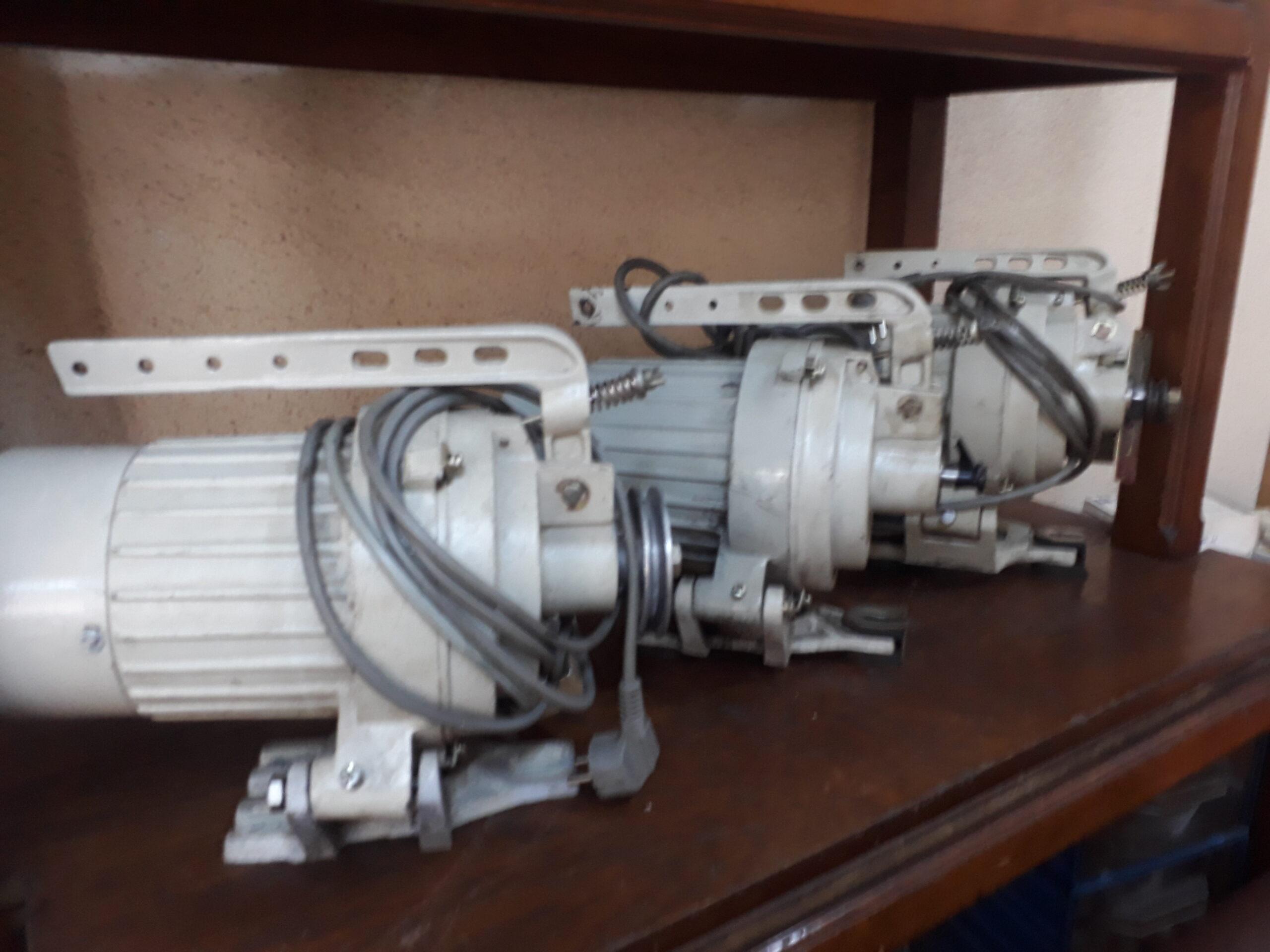Çeşitli Marka Ve Modellerde İkinci El Kavramalı Mekanik Ve Yarı-Otomatik Dikiş Makinesi Motoru İletişim: Whatshapp/(+90) 0538 749 34 59 İstanbul/Türkiye Promethe Elektronik