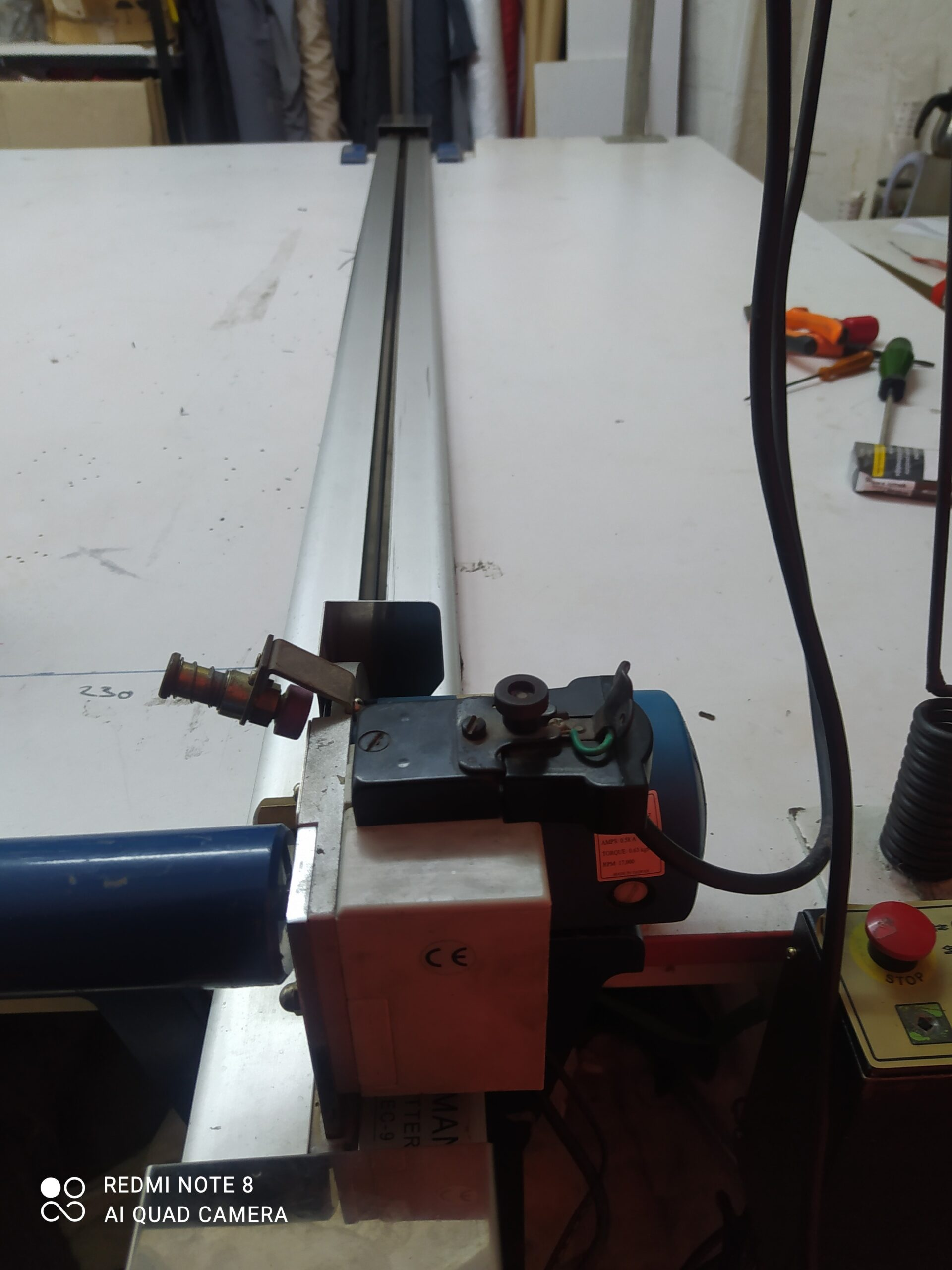 Sensörlü Eastman Pastalbaşı Kumaş Kesim Motoru Tamiri Promethe Elektronik (90) 0538 749 34 59